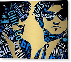 The Blues Brothers Quotes Acrylic Print