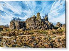 The Bomb Rocks Acrylic Print