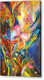 The Butterflies Acrylic Print by Elena Kotliarker