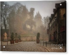 The Castle In The Myst Acrylic Print