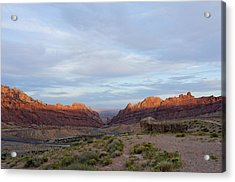 The Castles Near Green River Utah Acrylic Print