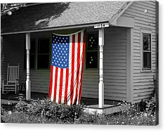 The Colors Of Freedom Acrylic Print by Linda Galok