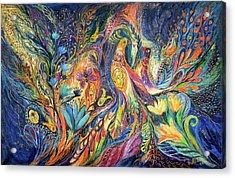 The Dance Of Oranges Acrylic Print by Elena Kotliarker