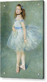 The Dancer Acrylic Print by Auguste Renoir