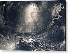 The Deluge Acrylic Print by John Martin
