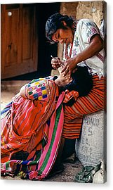 The Dentist Acrylic Print by Tina Manley
