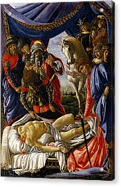 The Discovery Of Holofernes' Corpse Judith Returns From The Enemy Camp At Bethulia Acrylic Print
