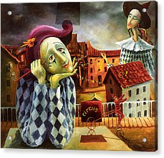 The Dreamer Acrylic Print by Igor Postash