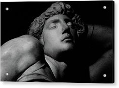 The Dying Slave Acrylic Print by Michelangelo Buonarroti