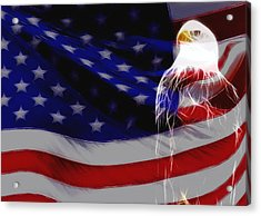 The Eagle Acrylic Print by Stefan Kuhn