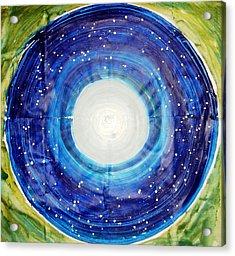 The Eternal Circle Acrylic Print by Baljit Chadha
