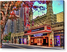 The Fabulous Fox Theatre Atlanta Georgia Art Acrylic Print by Reid Callaway