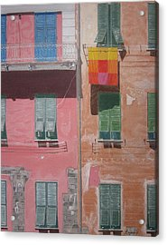 The Face Of Vernazza Acrylic Print