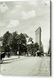 The Flatiron Building 1906 Acrylic Print