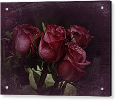 The Four Roses Acrylic Print by Richard Cummings