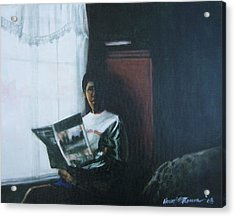 The Guest Room Acrylic Print by Howard Stroman
