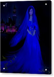 The Haunted Castle Acrylic Print by Thanh Thuy Nguyen