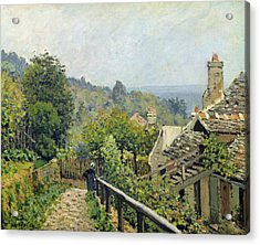 The Heights At Marly Acrylic Print by Alfred Sisley
