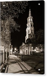 Acrylic Print featuring the photograph St. Michael's Episcopal Church by Carl Amoth