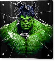 The Incredible Hulk Collection Acrylic Print