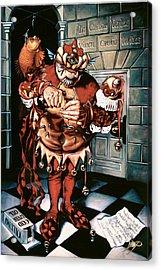 The Jesterook Acrylic Print by Patrick Anthony Pierson