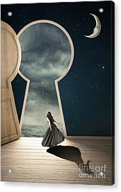 Curiouser And Curiouser Acrylic Print by Juli Scalzi