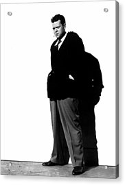 The Lady From Shanghai, Orson Welles Acrylic Print by Everett