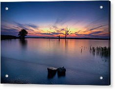 The Lakeside Acrylic Print by Ryan Heffron