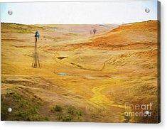 The Land Acrylic Print
