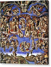 The Last Judgement Acrylic Print
