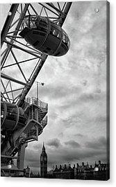 The London Eye Acrylic Print by Martin Newman