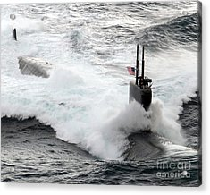The Los Angeles-class Fast Attack Acrylic Print by Stocktrek Images
