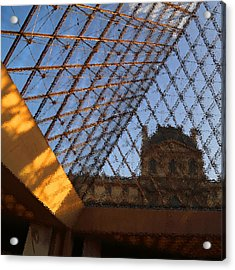 The Louvre Acrylic Print by Peg Owens