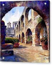 The Mission Acrylic Print by Andrew King