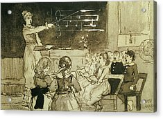 The Music Lesson Acrylic Print by Winslow Homer