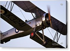 The Old Aircraft Acrylic Print by Angel  Tarantella