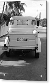 The Old Dodge  Acrylic Print by Rob Hans