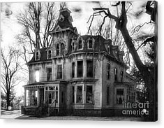 The Old Haunted Bruce Mansion Acrylic Print