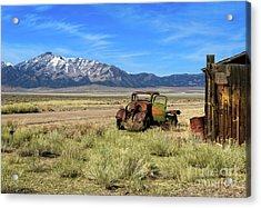 Acrylic Print featuring the photograph The Old One by Robert Bales