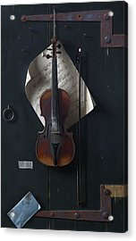 The Old Violin Acrylic Print