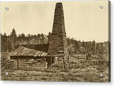 The Original 1859 Drake Oil Well Acrylic Print