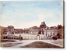 The Palace Of Versailles. C. 1880 Acrylic Print by Everett