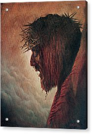 The Passion Acrylic Print by Artist Karen Barton