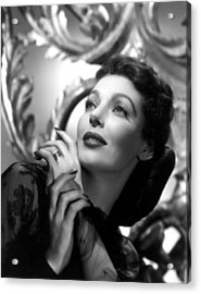 The Perfect Marriage, Loretta Young Acrylic Print by Everett