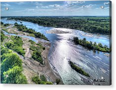 The Platte River Acrylic Print