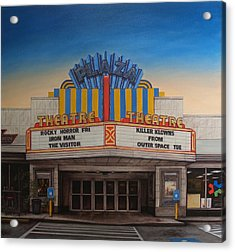 The Plaza Acrylic Print by Rick McClung