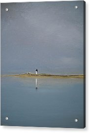 The Point Acrylic Print by Michael Marrinan