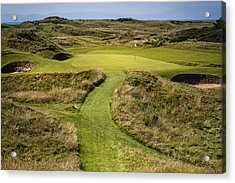 The Postage Stamp - Royal Troon Golf Course Acrylic Print