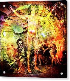 The Prophet On Death Acrylic Print by Barry Novis