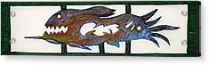 The Prozak Fish Acrylic Print by Robert Margetts